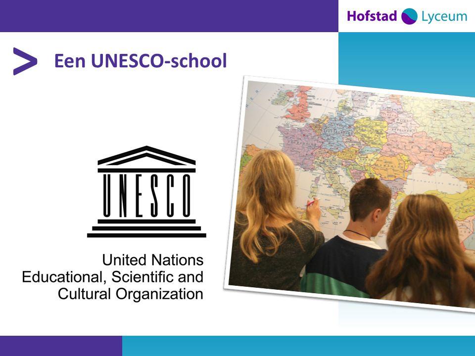 > Een UNESCO-school