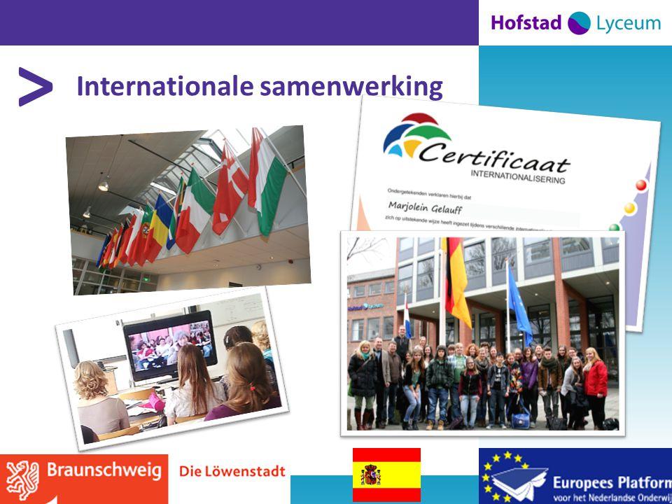 > Internationale samenwerking