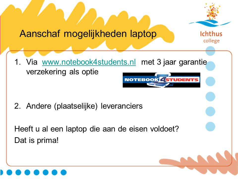 Aanschaf Software Microsoft Office 2010 •www.slim.nlwww.slim.nl •Email-adres van school.