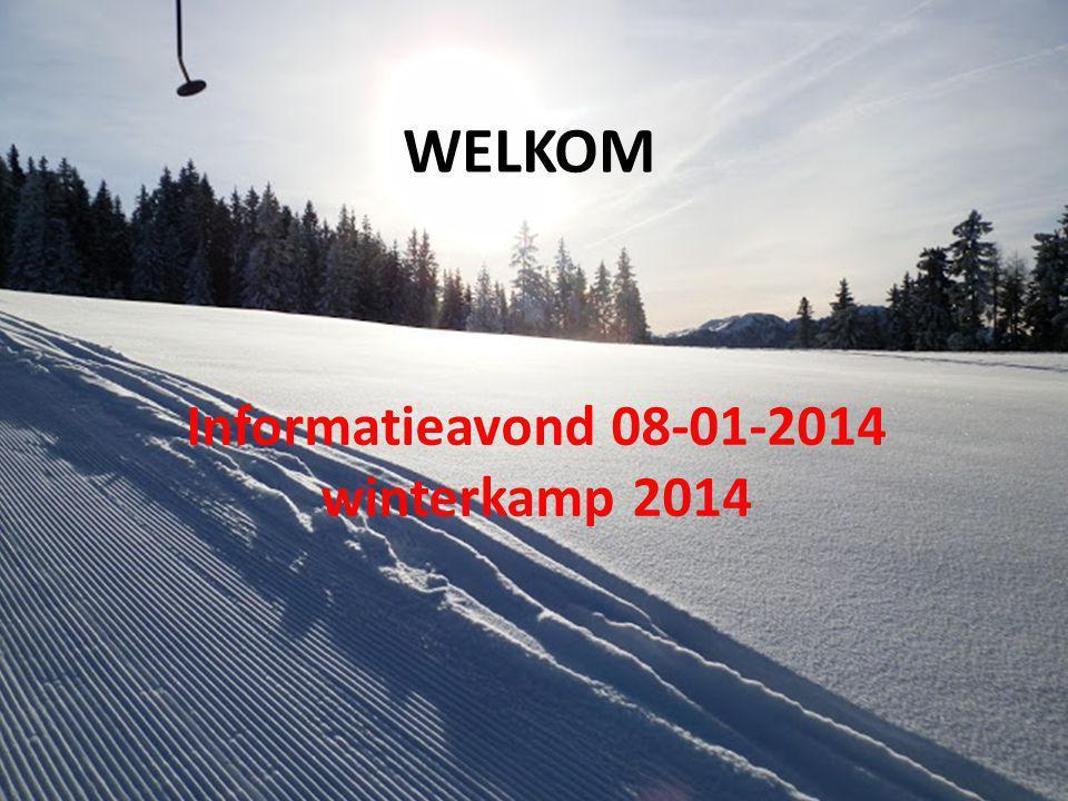 3 GROEPEN (124 leerlingen) Vertrek groep 1 & 2 vrijdagavond 28 februari Vertrek groep 3 dinsdagavond 4 maart 18.00 uur sporthal Naestebest • Groep 1 (zaal 2): 39 lln; GH Mühlbacherhof in Rennweg, skigebied Katschberg • Groep2 (zaal 1): 44 lln; GH Katschtalerhof in Rennweg, skigebied Katschberg • Groep 3 (zaal 3): 41 lln; GH Katschtalerhof in Rennweg, skigebied Katschberg