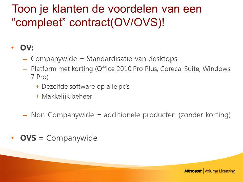 Licensing briefs: documenten rond specifieke scenarios http://www.microsoftvolumelicensing.com/