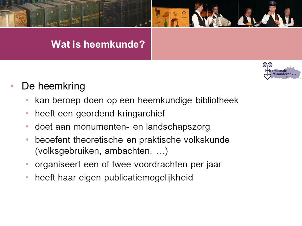 Wat is heemkunde.