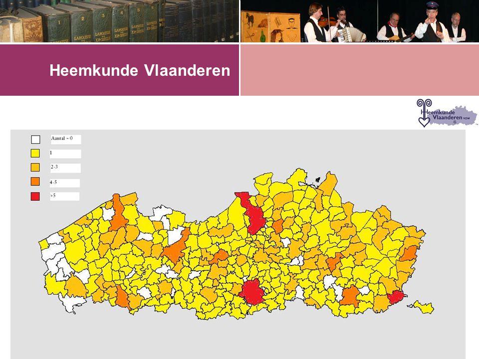 •61,5 % van de heemkringen beheert archief of documentatie