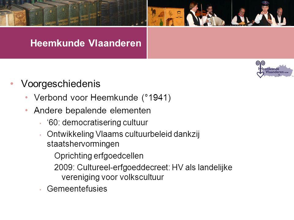 Heemkunde Vlaanderen •Impact van de gemeentefusies