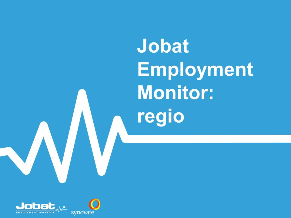 Jobat Employment Monitor: regio