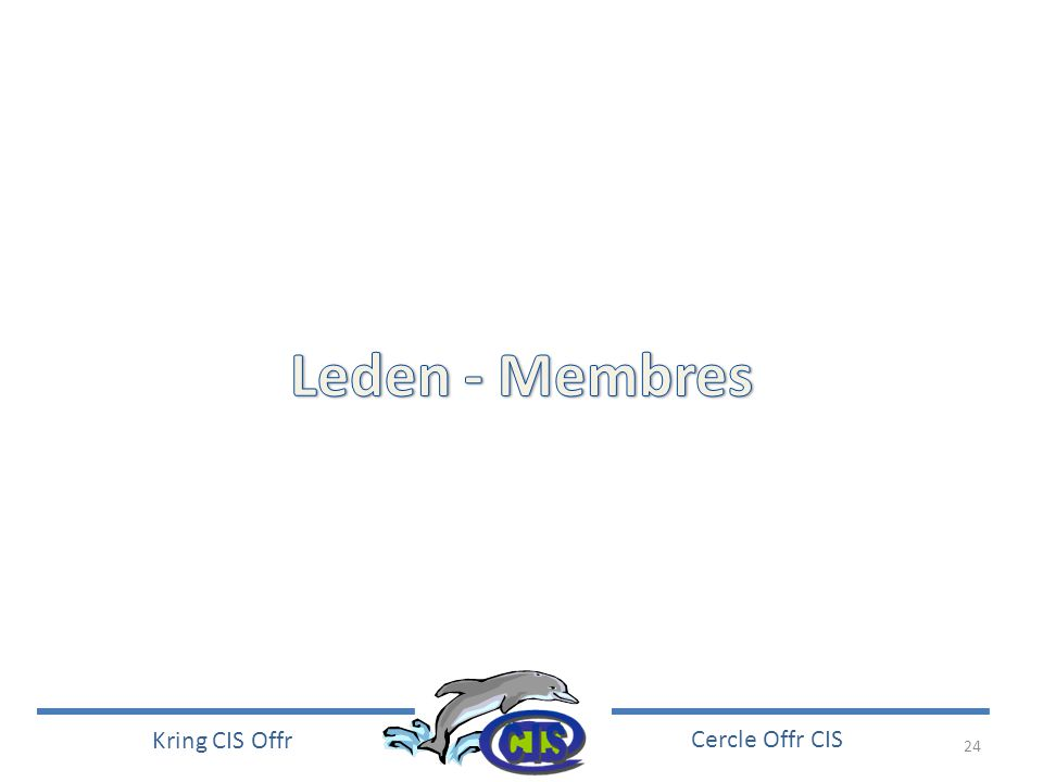 24 Kring CIS Offr Cercle Offr CIS