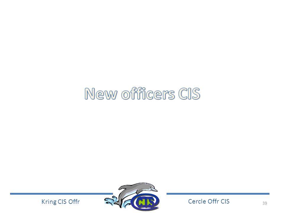 39 Kring CIS Offr Cercle Offr CIS