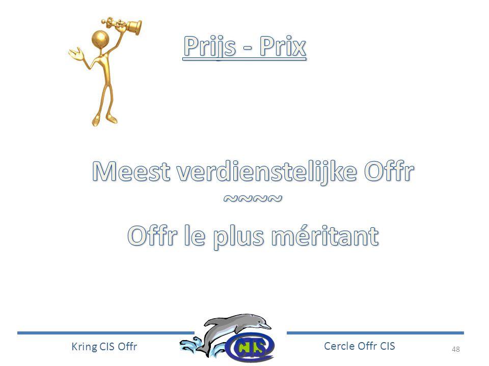 48 Kring CIS Offr Cercle Offr CIS