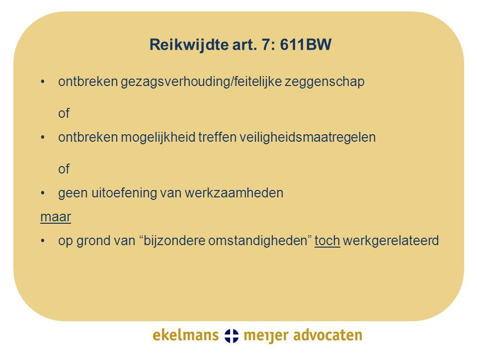 •nee •HR 11 november 2011 LJN BR5223 (TBS-instelling): -agressie-incidenten vallen gewoon onder art.