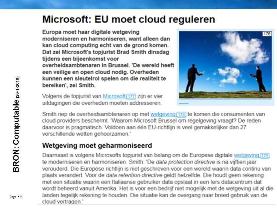 Page  9 BRON: Computable (26-1-2010)