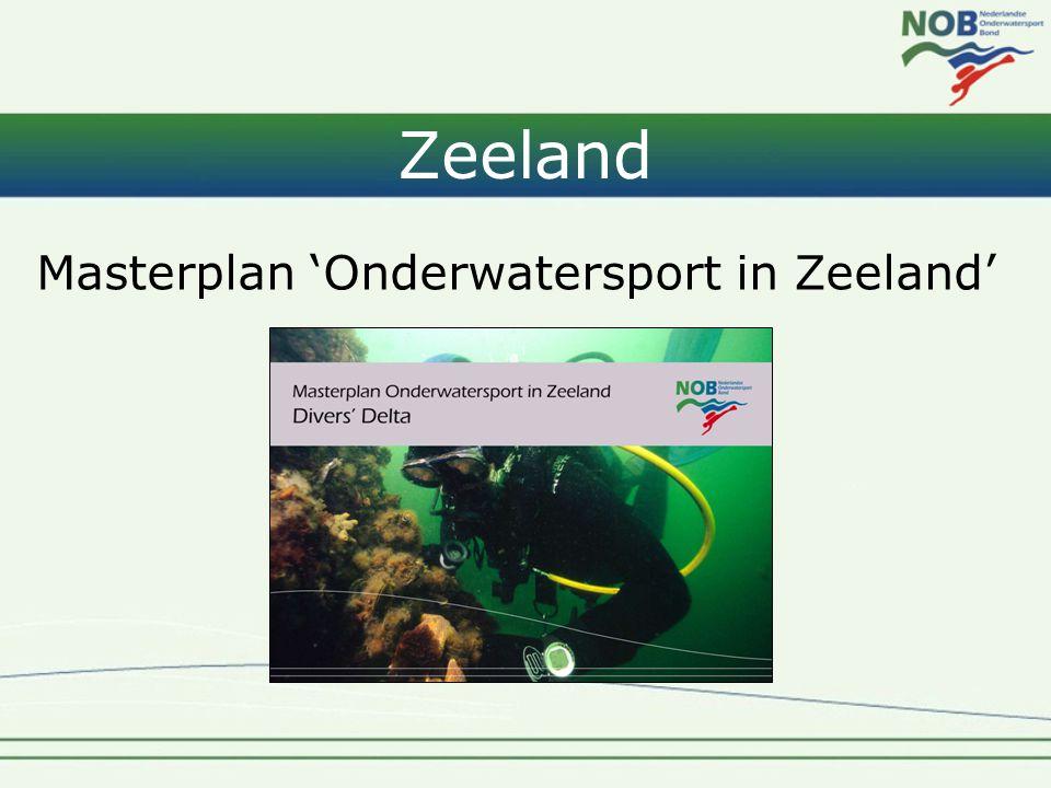 Zeeland Masterplan 'Onderwatersport in Zeeland'