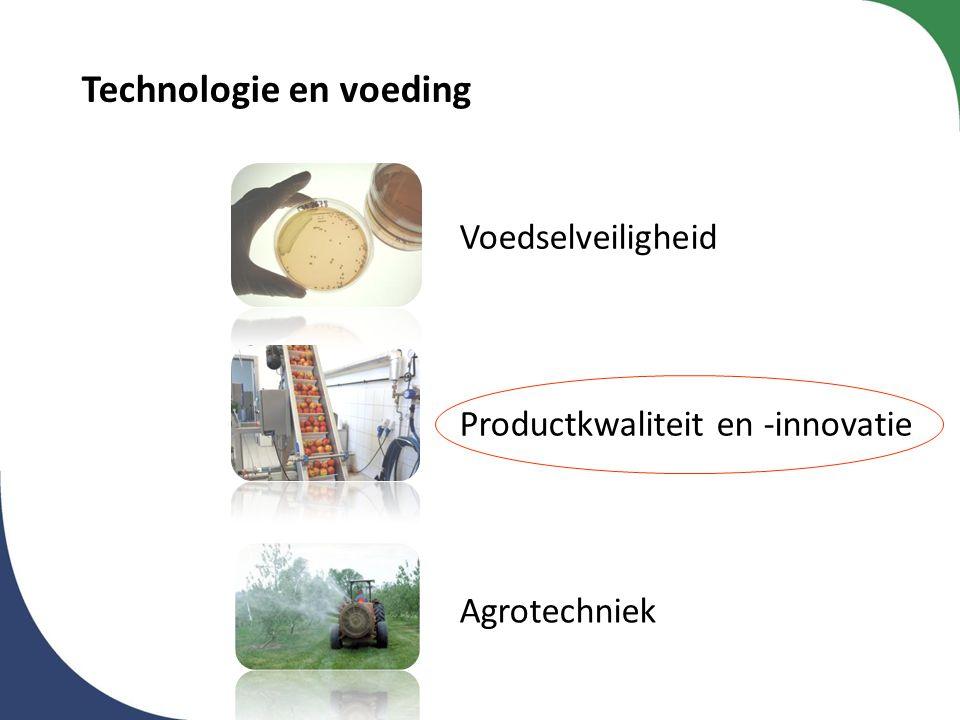 Technologie en voeding Voedselveiligheid Productkwaliteit en -innovatie Agrotechniek