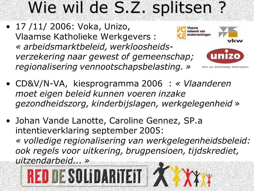 •Transferten bestaan ook binnen Vlaanderen –West-Vlaanderen krijgt meer dan het afdraagt.