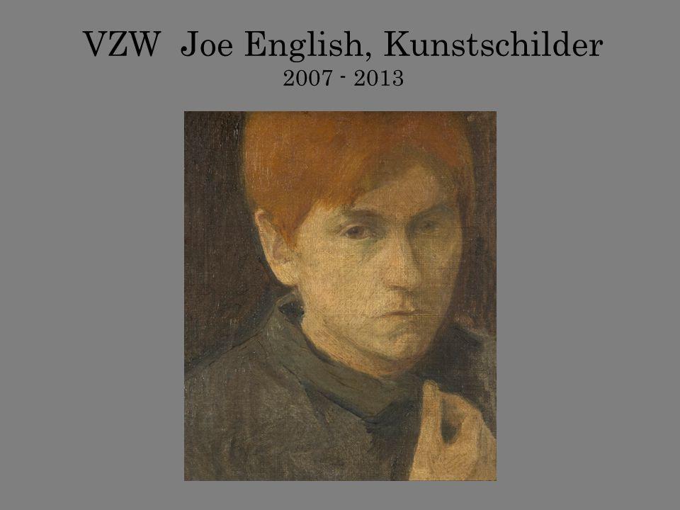 VZW Joe English, Kunstschilder 2007 - 2013