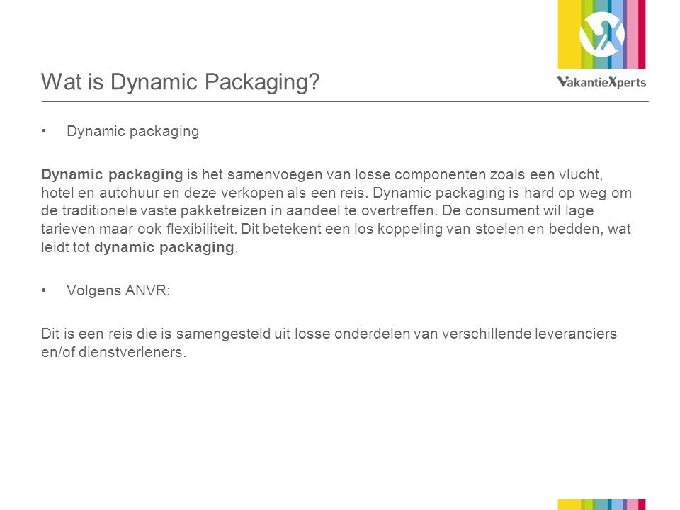 Wat is Dynamic Packaging.