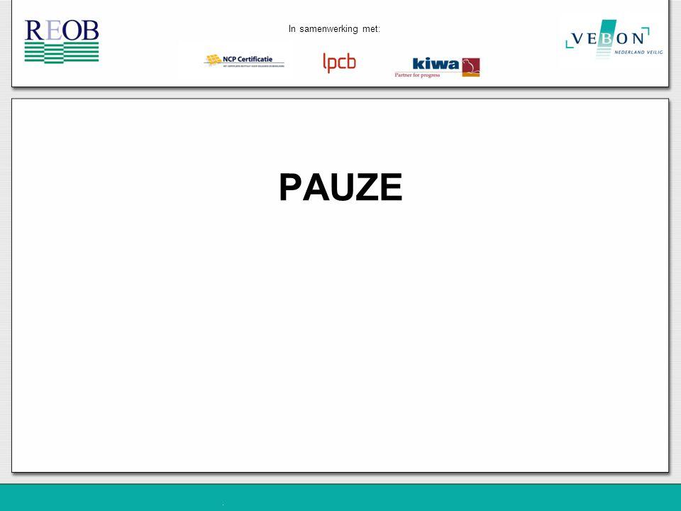PAUZE In samenwerking met: