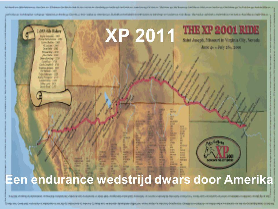 XP 2011 Een endurance wedstrijd dwars door Amerika