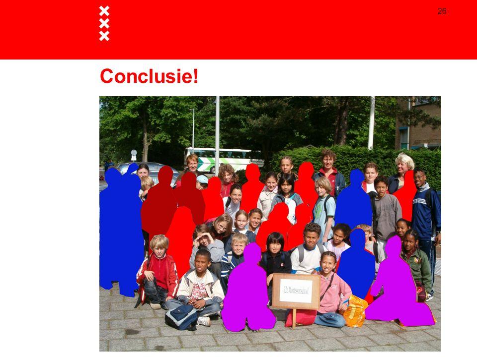 26 Conclusie!