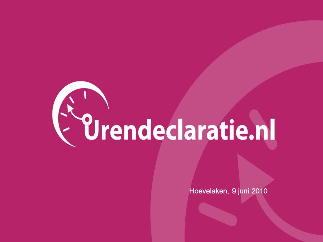 2 Inhoud  Korte introductie  Urendeclaratie.nl  Waarom Urendeclaratie.nl.