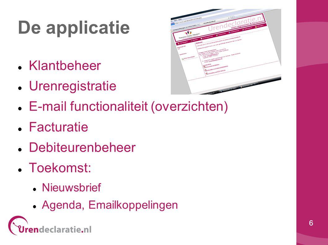 7 Waarom Urendeclaratie.nl .