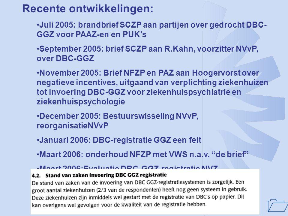 1 Historie(vervolg): •juni 2004: memo VWS, aankondiging gewijzigd RGC-beleid •september 2004 RGC-discussiemiddag •September 2004:typeringslijst, normt