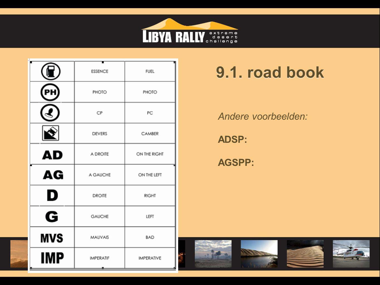 Andere voorbeelden: ADSP: AGSPP: