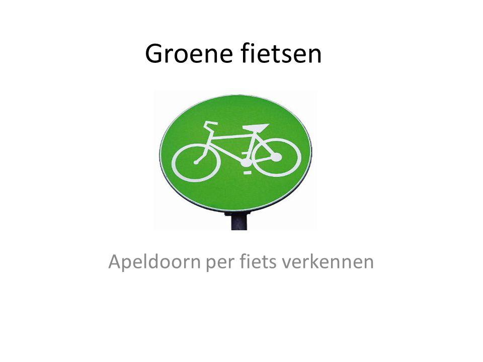 Groene fietsen op weg Door: Chris wolters PECHA KUCHA PRESENTATIE