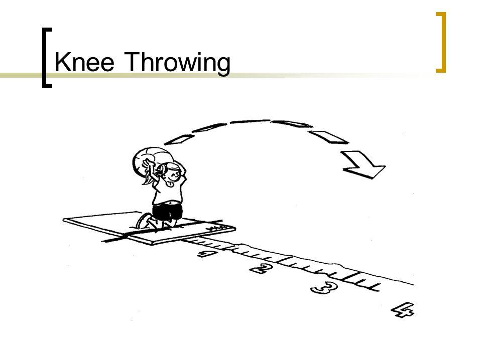 Knee Throwing