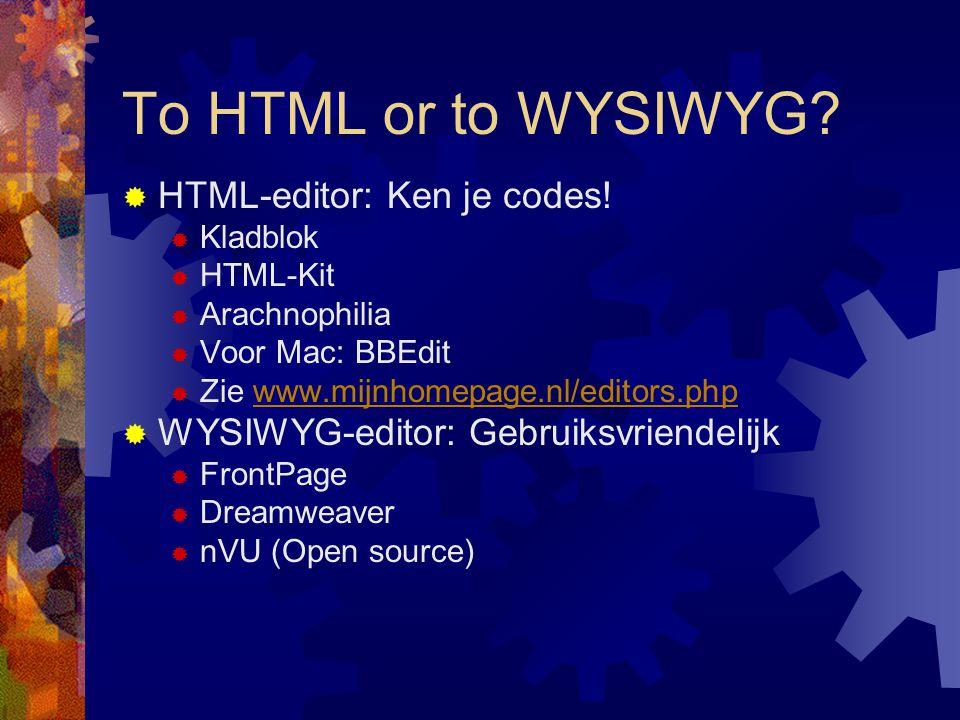Classy: Gratis 20 MB webruimte  Surf naar www.classy.be  Registreer (hou Lerarenkaart klaar)  Wacht op mail met wachtwoord  Meld aan  Klik op Webruimte  Vraag subdomein aan  Wacht op mail met FTP-wachtwoord en andere gegevens Succes!