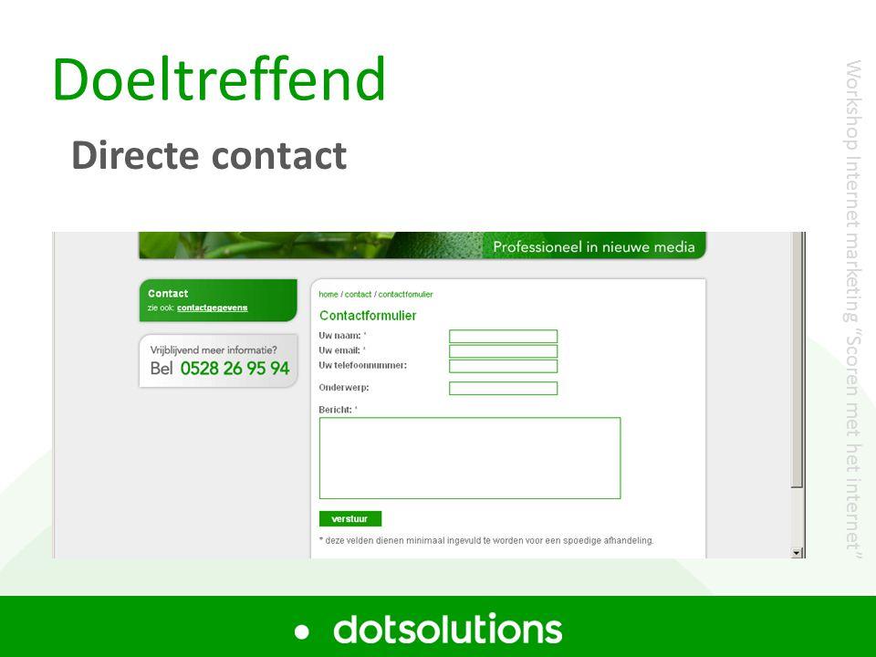 Gratis website test Uw website gratis laten testen.