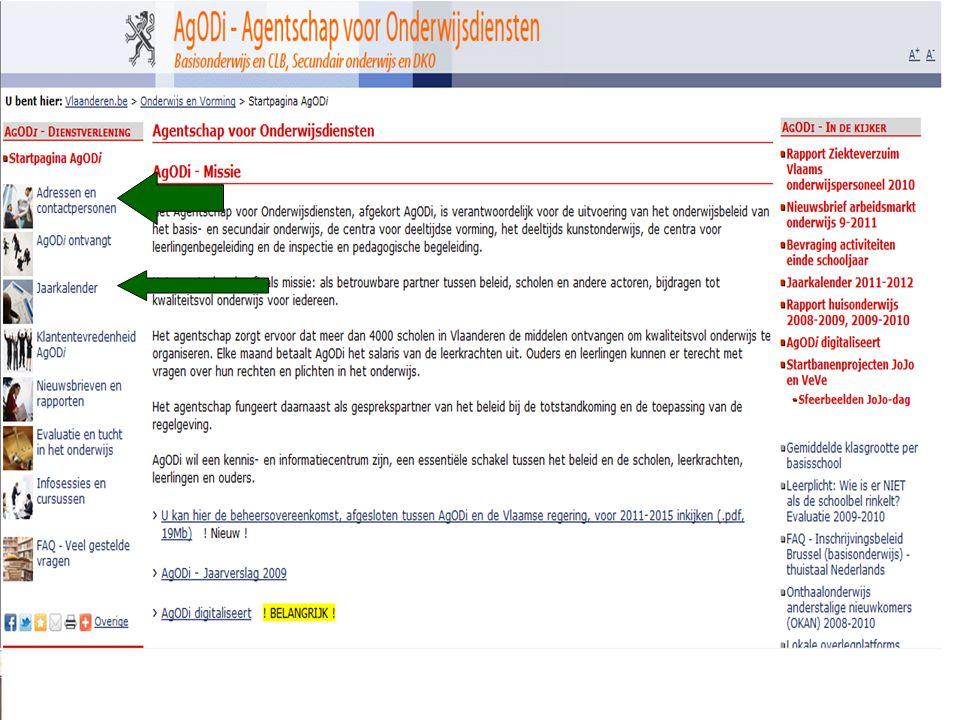 AgODi opleiding schoolsecretariaten 2011-2012