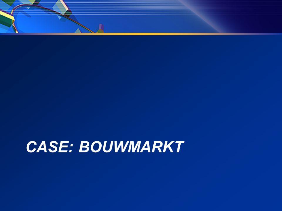 CASE: BOUWMARKT