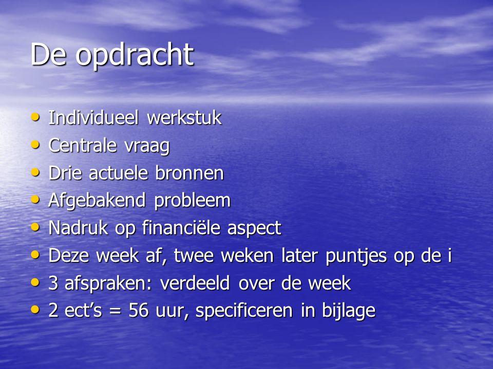 Rapport over Rapporteren • Voorbeeldrapport • Aanwijzingen per onderdeel • Bijlagen • Raamwerken op de website • Voorbeelden en oefeningen op de website • Website bij boek: www.narrare.nl