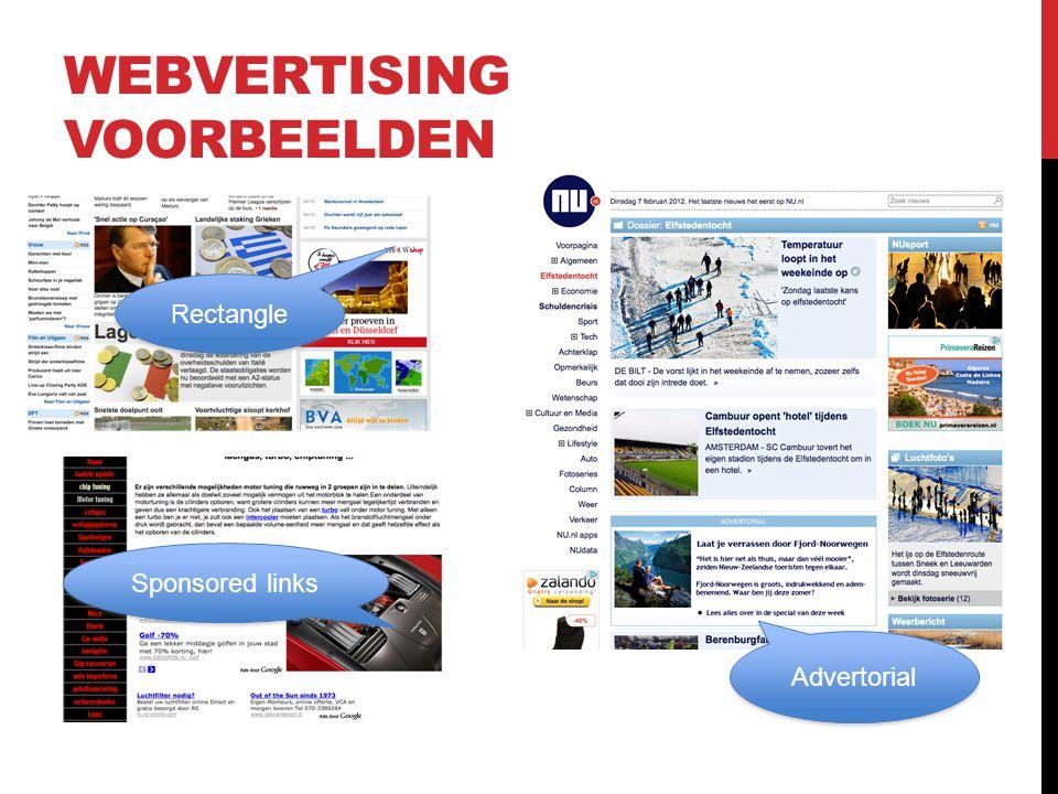 Sponsored links WEBVERTISING VOORBEELDEN Rectangle Advertorial