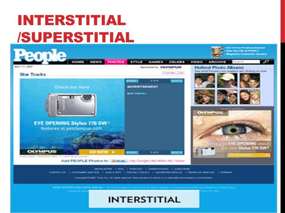 INTERSTITIAL /SUPERSTITIAL
