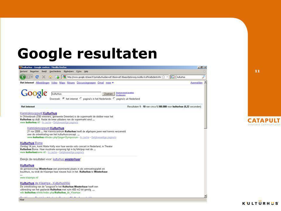 Google resultaten 11