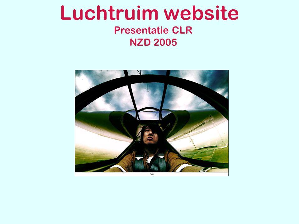 Luchtruim website Presentatie CLR NZD 2005