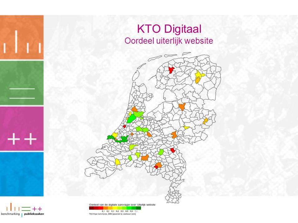 KTO Digitaal Oordeel uiterlijk website