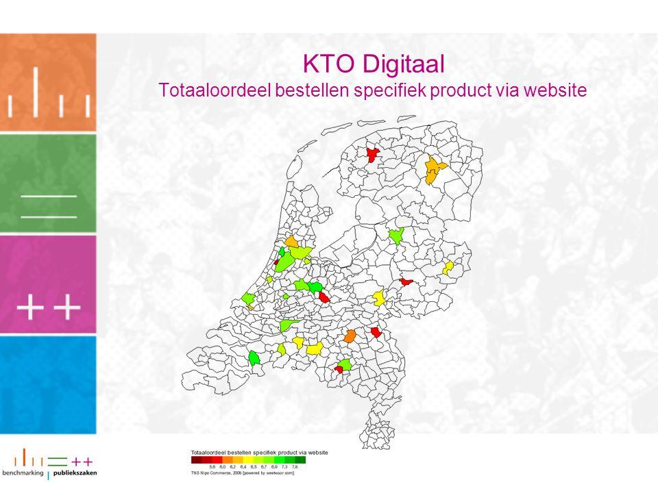 KTO Digitaal Totaaloordeel bestellen specifiek product via website