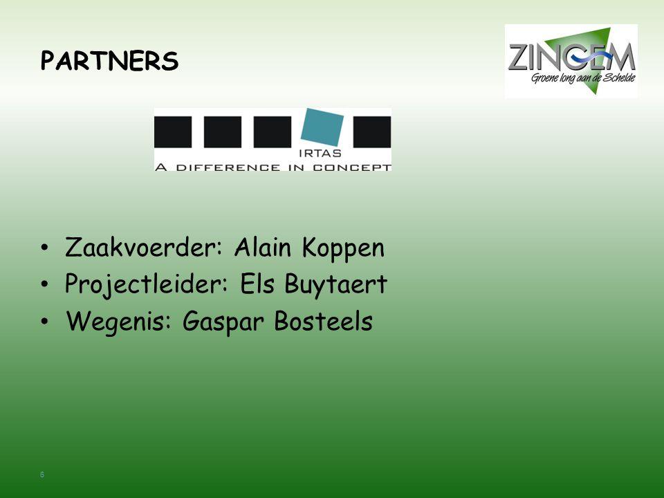 7 PARTNERS • Zaakvoerder: Geert Boone • Werfleider: Pascal Van Bever Maatschappelijke zetel: Bedrijvenlaan 4, 9080 Lochristi