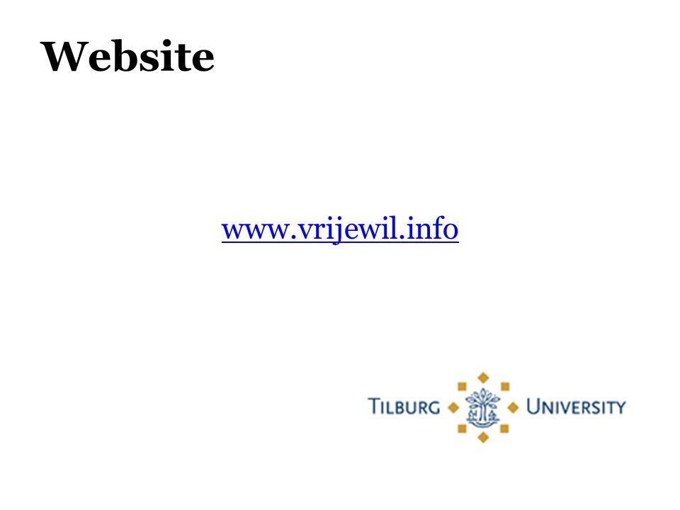 Website www.vrijewil.info