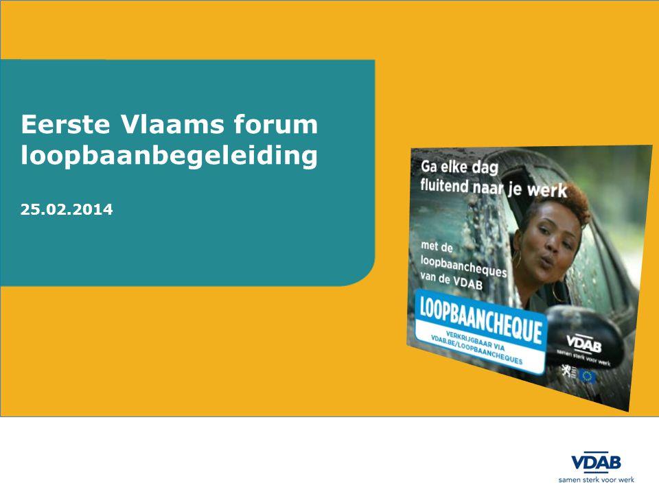 Eerste Vlaams forum loopbaanbegeleiding 25.02.2014