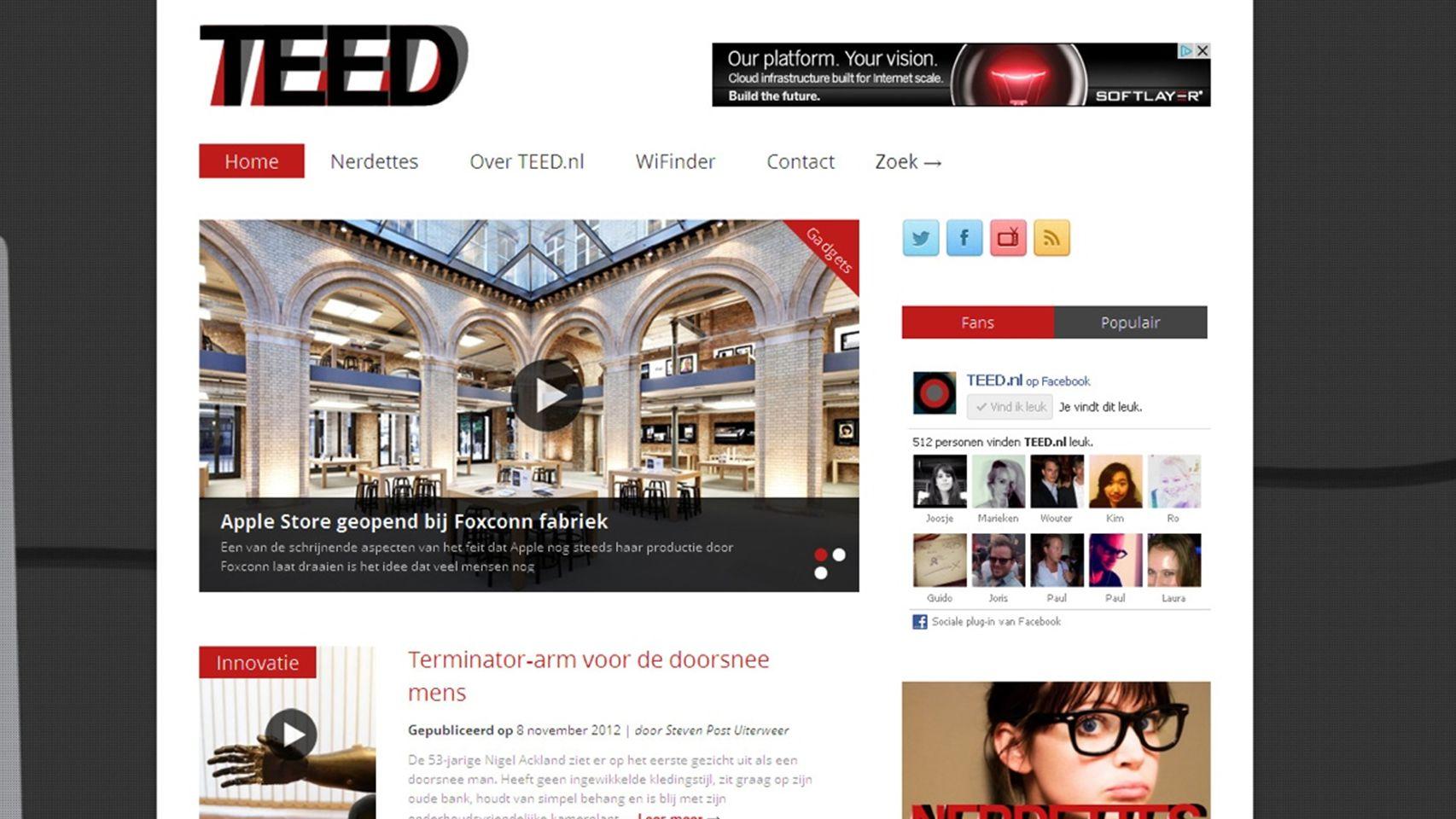 themeforest vs. eigen website