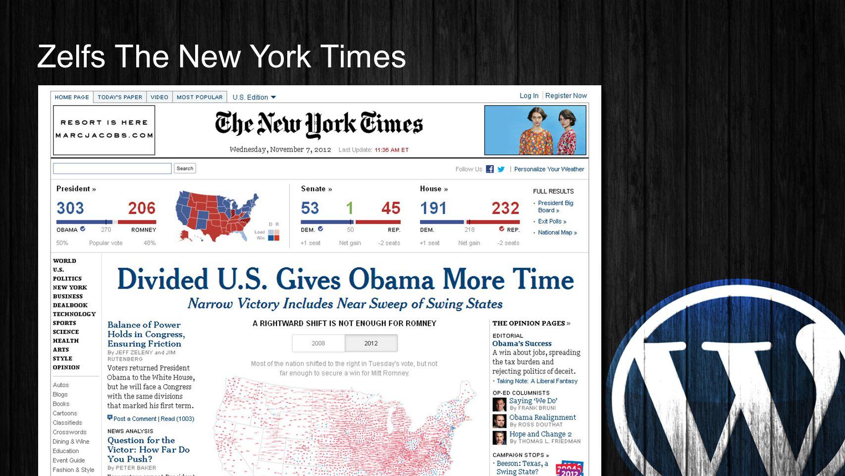 Zelfs The New York Times
