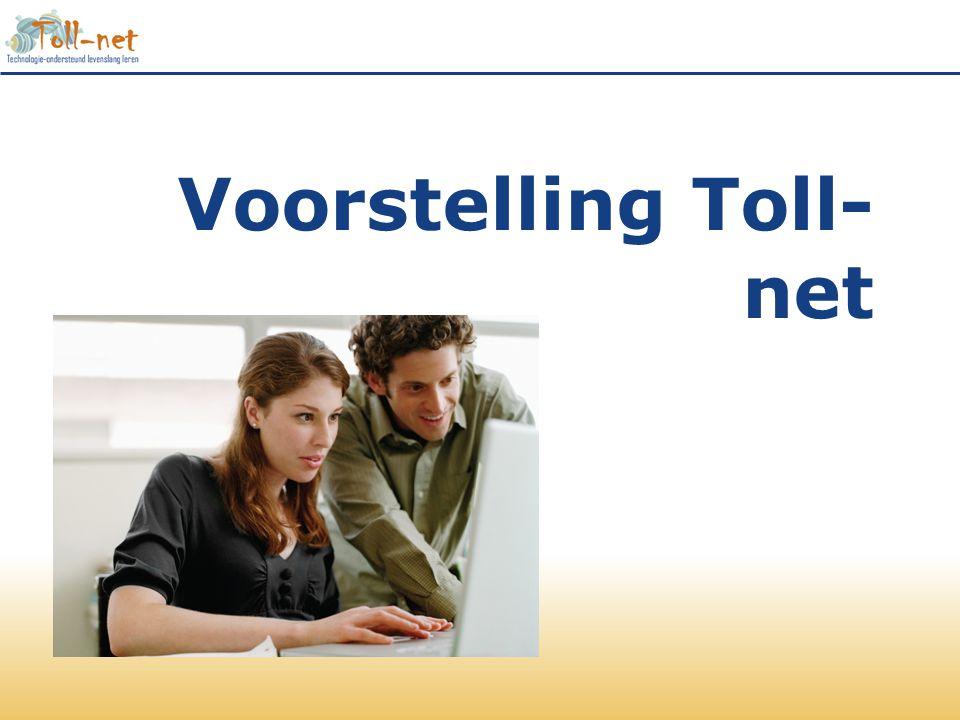 Voorstelling Toll- net