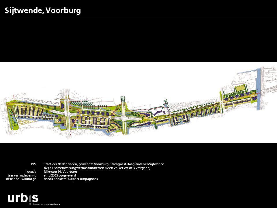 Sijtwende, Voorburg PPS locatie jaar van oplevering stedenbouwkundige architecten aantallen m2rs functies contactpersoon Staat der Nederlanden, gemeen