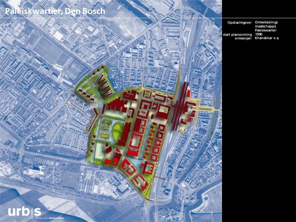 Paleiskwartier, Den Bosch opdrachtgever start planvorming ontwerper m2rs/ woningaantallen status project bouwkosten contactpersoon website BV Ontwikke