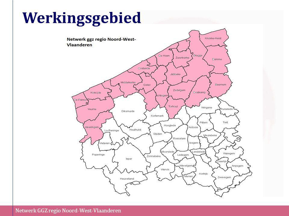 Netwerk GGZ regio Noord-West-Vlaanderen Werkingsgebied