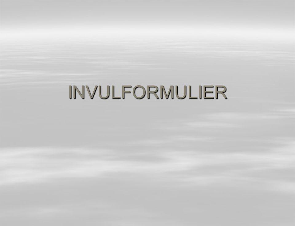 INVULFORMULIER