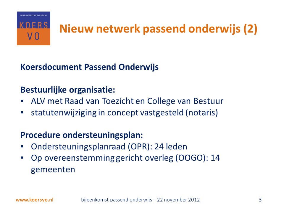 Schoolprofielen Koers VO/VSO Annemarie Rodenburg Koers VO Marijke Terwisscha van ScheltingaCED-Groep